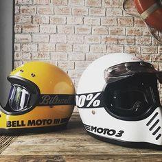 The Bell Moto 3 Motorcycle Helmet Red Hood Helmet, Bell Helmet, Motocross, Bmx, Retro Helmet, Vintage Helmet, Motorcycle Helmet Design, Motorcycle Tank, Casque Bell