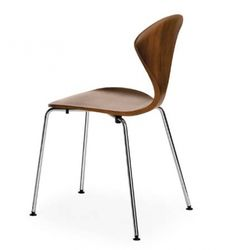 1958 Molded Plywood Side Chair/ designed by Norman Cherner