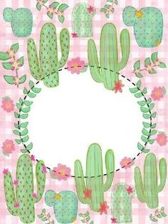 Add your text on PowerPoint! (:… Best Picture For cactus embroid - Cactus House Plants, Cactus Decor, Cactus Art, Cactus Planta, Cactus Y Suculentas, Cute Binder Covers, Cactus Drawing, Little Plants, Classroom Themes