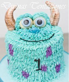 Torta Sulley de Monsters Inc