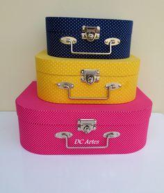 Trio de maletas