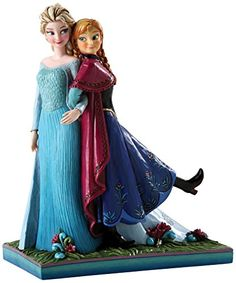 From Disney's latest theatrical release, FROZEN, Elsa and Anna make their debut to Disney Traditions in this endearing sculpture by Jim Shore that ...