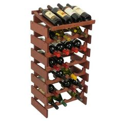 Wooden Mallet 28 Bottle Dakota Wine Rack with Display Top Mahogany >>> More info could be found at the image url.  This link participates in Amazon Service LLC Associates Program, a program designed to let participant earn advertising fees by advertising and linking to Amazon.com.