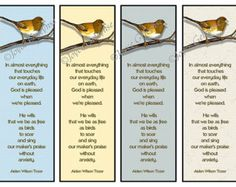 Printable Christian Bookmarks with Quotes