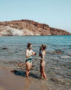 Paros, Greece via @finduslost #paros #greece #greekislands #girlstrip #beachgetaway #finduslost Greek Islands To Visit, Best Greek Islands, Best Beaches In Europe, Beaches In The World, Greek Town, Selena And Taylor, Greek Island Hopping, Destin Beach