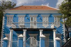historic house carribean | curacao caribbean lesser antilles willemstad otrobanda historic city ...