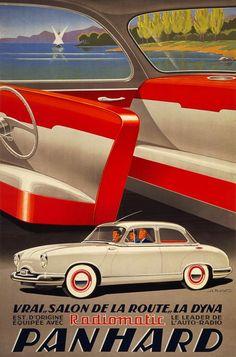 """Panhard Dyna """"Salon de la Route"""" - 1955 - (Alexis Kow) -"""