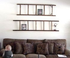 Ashbee Design: Ladders for Photo Display