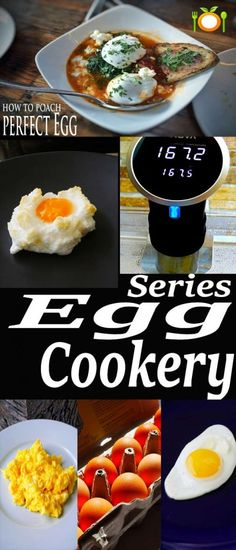 Chef's collection of proper egg cookery techniques you should learn and have in your culinary tool belt.  #eggs #breakfast #eggcookery #waystocookeggs #chefcookinglessons