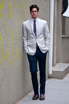 Street Style: The Well-Tailored Lawyer: The Daily Details: Blog : Details