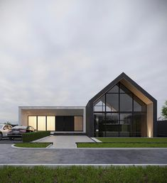 Modern house exterior - Showcase and discover the latest work from top online portfolios by creative professionals across industries Modern Barn House, Modern House Design, Exterior Tradicional, Casas Containers, Latest House Designs, Dream House Exterior, Facade House, Home Fashion, Exterior Design