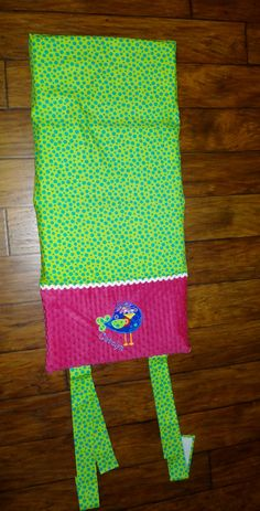 Embroidered Nap Mat Cover with Pillow and by SarahSunshineDesigns, $60.00