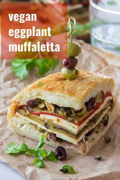 Vegan Sandwich Recipes, Healthy Sandwiches, Delicious Vegan Recipes, Vegetarian Sandwiches, Panini Sandwiches, Whole Food Recipes, Cooking Recipes, Cake Recipes, Wrap Recipes