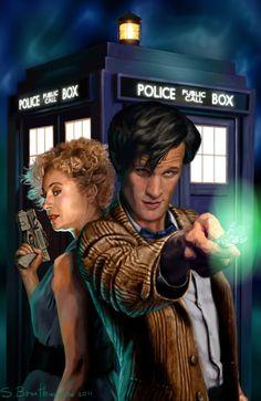 Doctor Who Art