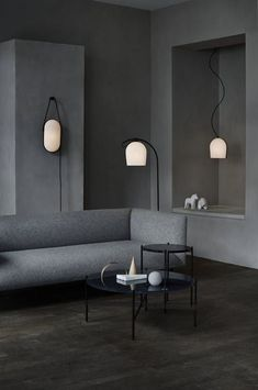 ARC Lighting Collection Inspired by the Interior of a Copenhagen Church - Design Milk Manér Studio designed the ARC Collection of lighting for LE KLINT that was inspired by the regal architecture of Grundtvig's Church in Copenhagen. 3d Interior Design, Interior Decorating, Ballon Lampe, Modern Lighting Design, Bright Homes, Dark Interiors, Unique Lamps, Deco Design, 3d Design