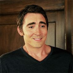 Cutest thing ever. Serious. #LeePace #PushingDaises #thePiemaker