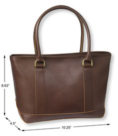 Town and Field Tote, Leather Mini