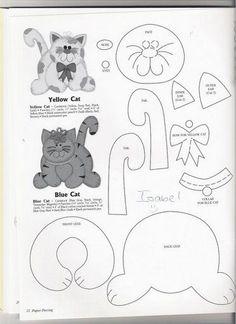 Animais com moldes - ALITA´S - Picasa Albums Web