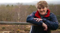 Clare Balding joins Gill Callow on one of her regular walks around York. Clare Balding, Bbc Radio, Windbreaker, Anorak Jacket