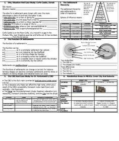 These revision cards allow students to complete handy flash cards to use in the run up to their exams. Topics include site, situation, hierarchy, function, urban models, residential areas, inner city problems, developing the inner city, urban-rural fringe, trends in urbanisation, cause of urbanisation, problems and solutions in LEDC cities. Problem And Solution, Cities, Students, Urban, Trends, Models, Cards, Templates, Maps