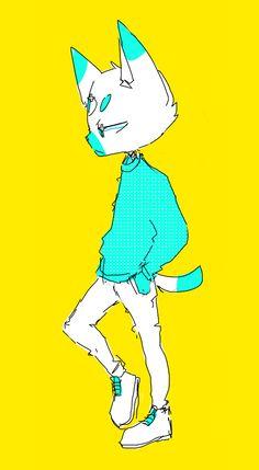 Character Drawing, Character Design, Cat Oc, Commercial Art, Space Cat, Cool Sketches, Furry Art, Cartoon Art, Cute Drawings