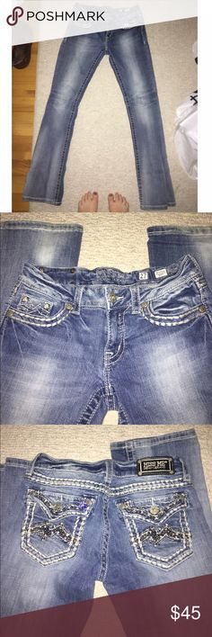 Miss me jeans excellent condition!! feel free to make an offer :) Miss Me Jeans Boot Cut
