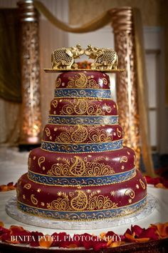 indian wedding cake gallery - Google Search
