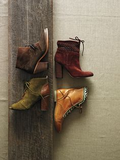 The color palette here is beautiful for fall, and could easily work in décor! #Anthropologie