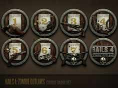 Zombie Outlaws Lob Law Bomb by Justin Mezzell for Code School