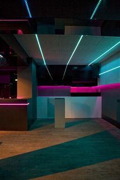 Club 69 nightclub design