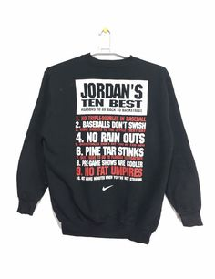137dc6750b9b Excited to share this item from my  etsy shop  Vintage NIKE AIR JORDAN  sweatshirt