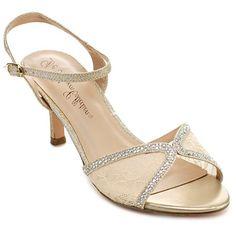 De Blossom Collection Women's 'Vero-36' Ankle Strap Heels