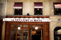 La Fontaine de Mars - Paris 7th. Great restaurant near the Eiffel Tower. Very friendly staff and absolutely delicious food. Charming atmosphere!