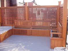 Removable bench seats for storage. Back Bay Penthouse Rooftop Deck & Theater