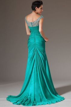Sexy Mermaid Chiffon Prom Dress Formal Wedding Evening Dress to Party Gown