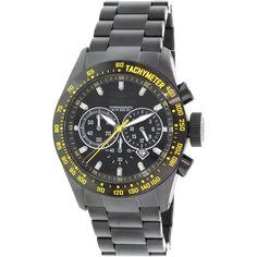 Invicta Men's Speedway 19297 Black Stainless-Steel Swiss Quartz Watch