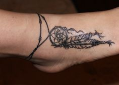 My first #tattoo: #dreamcatcher :)  Done at: the Illustrated Man in Sydney, Australia.