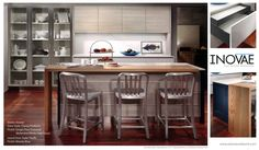 Plato Woodwork display at KBIS 2015 include Grothouse Wood Surfaces https://www.glumber.com/