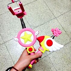 Cardcaptor Sakura Selfie Stick #ccs #cardcaptorsakura #anime #kawaii…