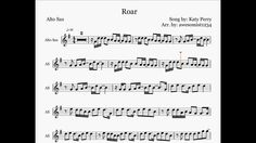 Roar - Katy Perry (Saxophone Sheet Music)