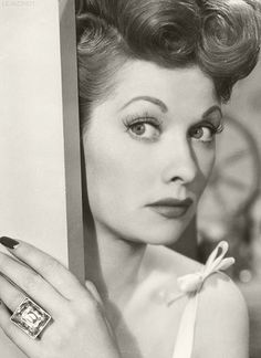 My friends tease me that I have a ridiculous and irrational fear of red heads... But I would have sold my soul to have met Lucille Ball while she was alive.... Such an amazing and beautiful person!