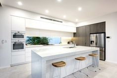 modern kitchen all white kitchen ideas the life creative window splashback