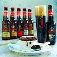 Σουφλέ Σοκολάτας και Craft Black Lager
