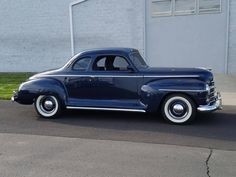 1947 Plymouth Business Coupe