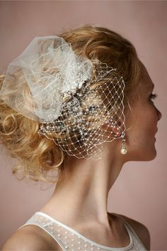 Perfect for a beach bride!  Colette Comb in Shoes & Accessories Headpieces Pins, Clips & Combs at BHLDN