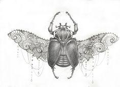 beetle tattoo - Google Search