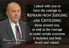Thomas S Monson inspired speech