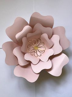 Paper Flower Template 7 SVG file