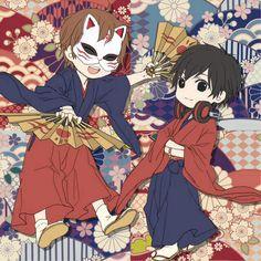 Kashitarou & Rib >//^//<