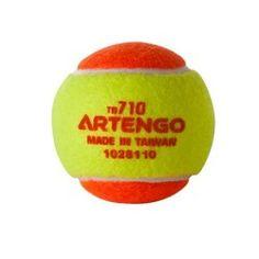 BALL/BOLA TENNIS/TÊNIS ARTENGO TB710 - STAGE/ESTÁGIO 02 - ORANGE/LARANJA International Tennis Federation, Play And Stay, Decathlon, Stage, Balls, Tennis